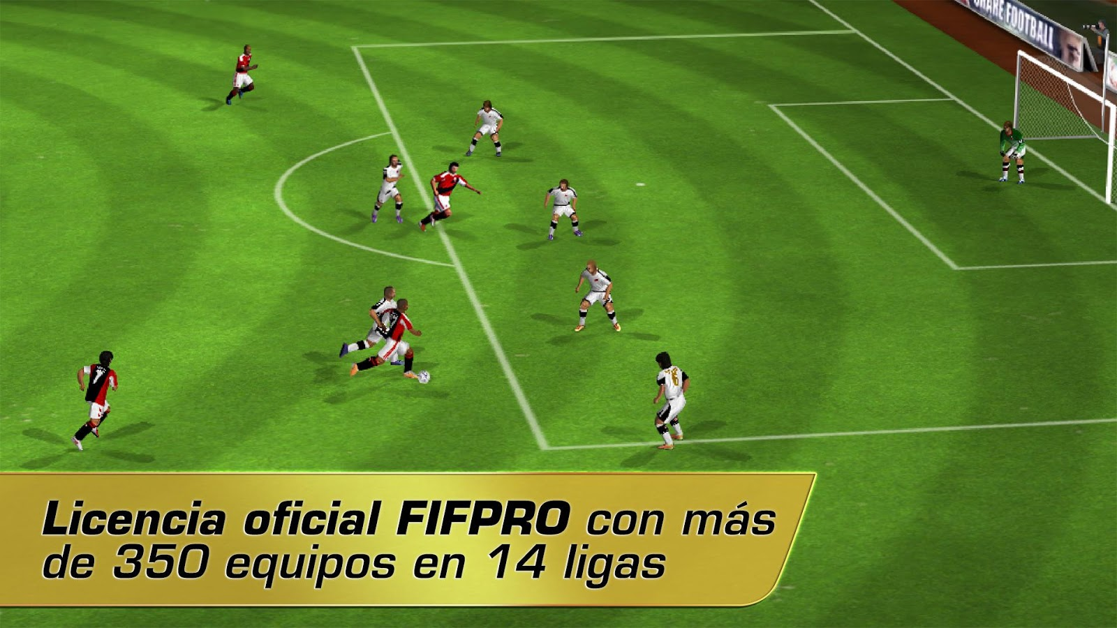 Real Football 2012: captura de pantalla
