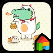 Mr.Dada(Halloween)Dodol Theme