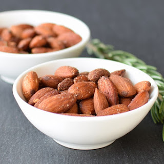 Fresh Rosemary Roasted Almonds Recipe