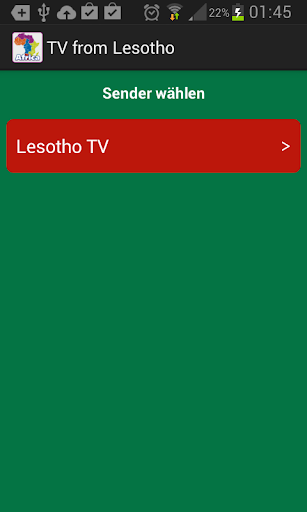 TV from Lesotho