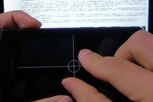 Screenshot of Multi Touch Pad Free