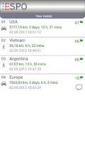 Screenshot of ESPO Free - Route Planner