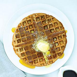 Oatmeal Cinnamon Waffles.