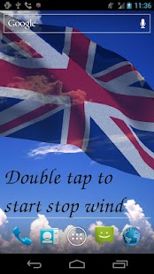 3D UK Flag Live Wallpaper - screenshot thumbnail