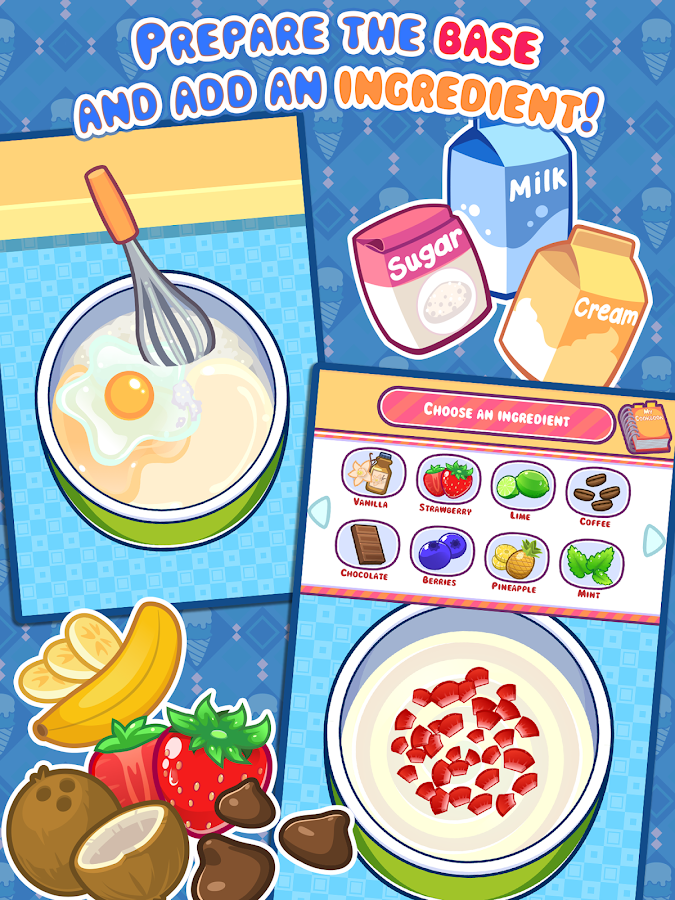 My Ice Cream Maker - Food Game - Android Apps on Google Play