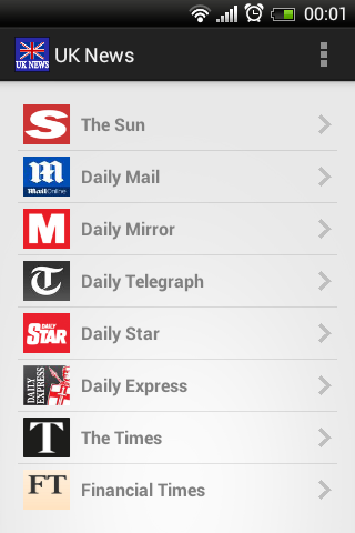 Daily Newspaper - UK newspapers online | British newspapers & World newspapers