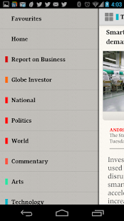 The Globe and Mail: News - screenshot thumbnail