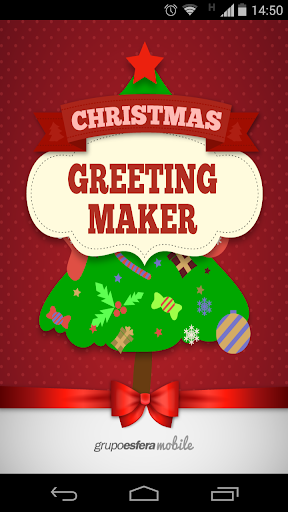 Christmas Greeting Maker App