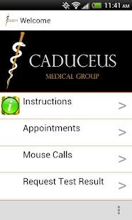Caduceus Medical Group - screenshot thumbnail