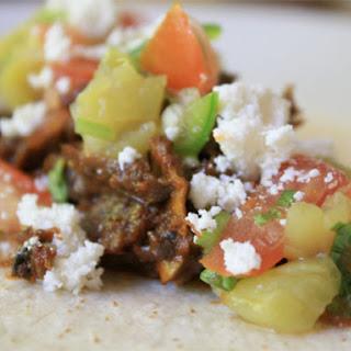 Stewed Beef Neck Tacos