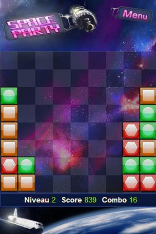PARTYをブロック:宇宙の挑戦を!