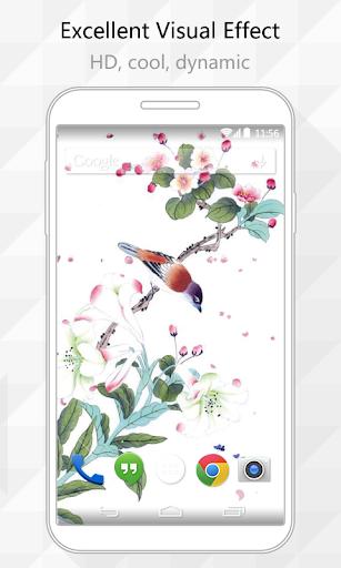 Painting Bird Live Wallpaper