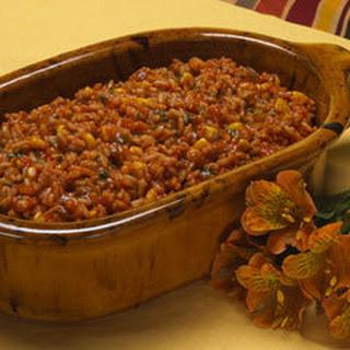 Hearty Spanish Rice.