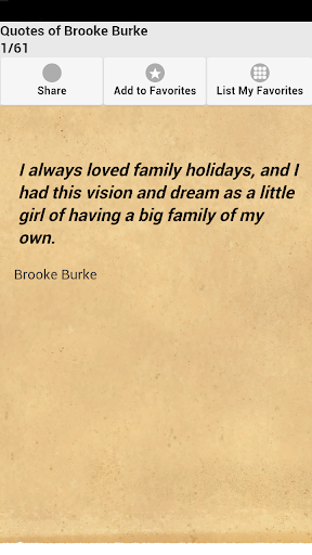 Quotes of Brooke Burke