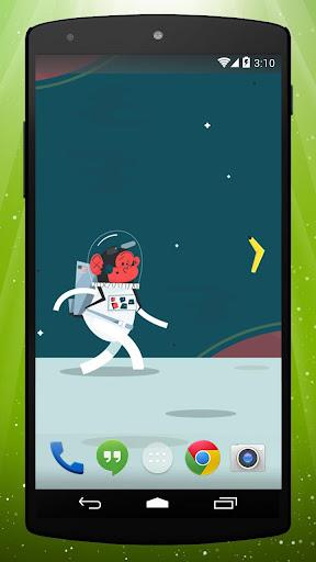 Space Monkey Live Wallpaper