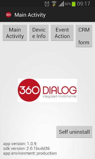 360 Dialog SDK Test
