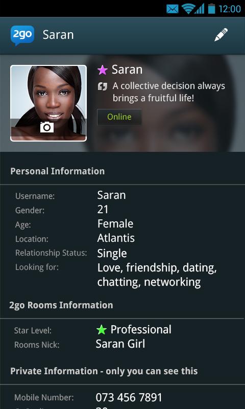 2go - screenshot