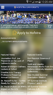 Hofstra University - screenshot thumbnail