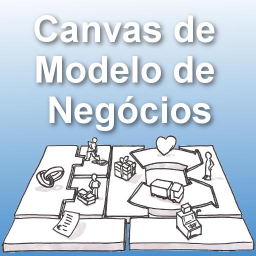 Canvas de Modelo de Negócios LOGO-APP點子