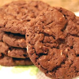 Double Chocolate Coconut Cake Mix Cookies.