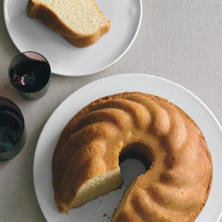 Cardamom Vanilla Pound Cake.
