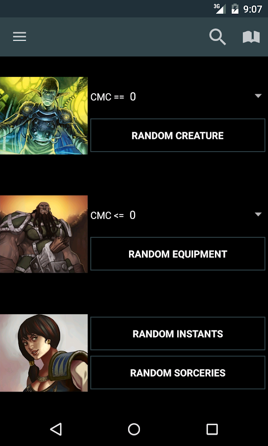 MTG Familiar - screenshot