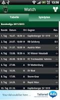 Screenshot of FC Wacker Innsbruck