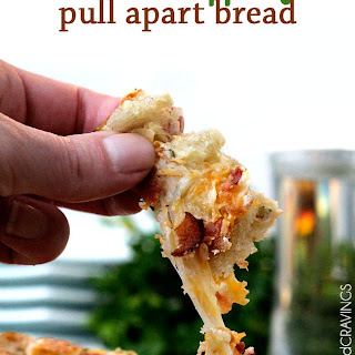 Bacon Ranch Pepper Jack Pull Apart Bread.