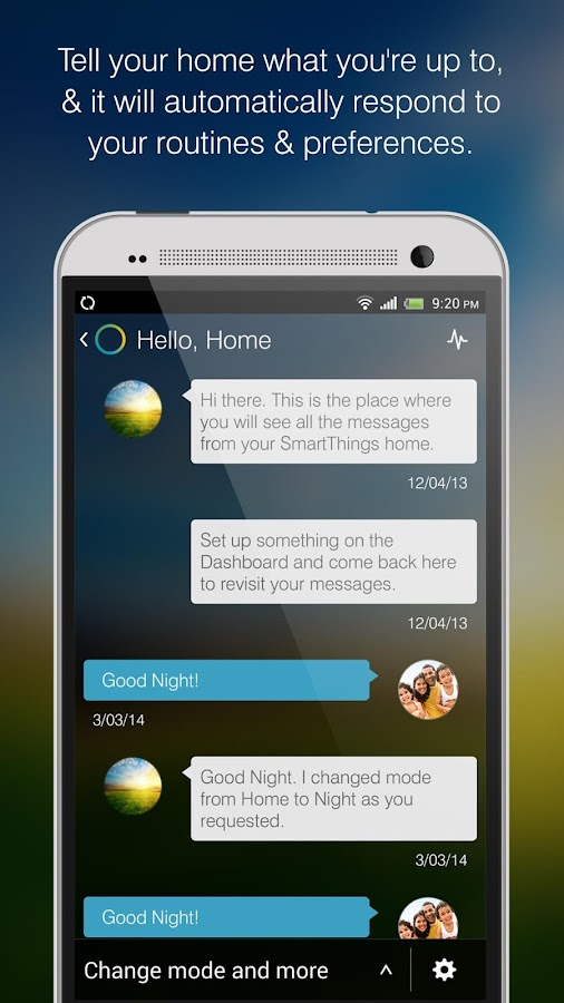 SmartThings Mobile - screenshot