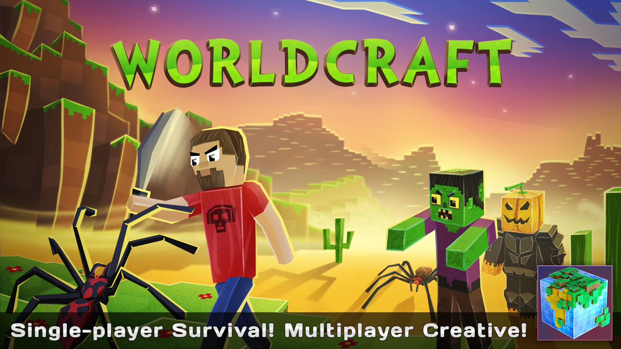 Screenshots of WorldCraft : 3D Build & Craft for iPhone