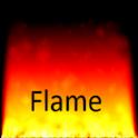 Flame live wallpaper demo logo
