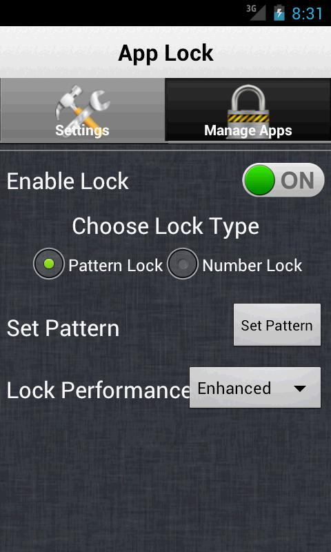 Smart App Lock - App Vault - screenshot