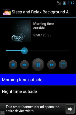 Sleep Relax Background Audio