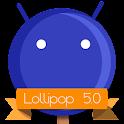 Lollipop 5.0 DarkBlue Theme APK Cracked Download