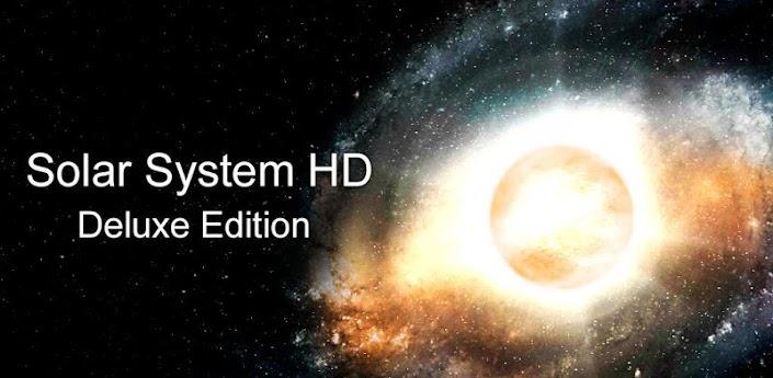 Солнечная Система HD Deluxe - лучшие космические живые обои на android