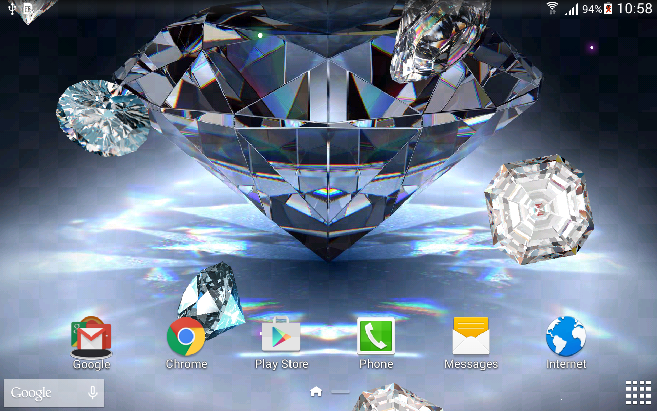 Diamonds Live Wallpaper - Android Apps on Google Play