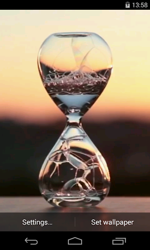 Water clock Video LWP