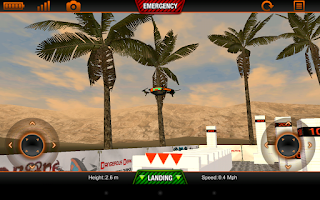 Screenshot of ARDrone Sim
