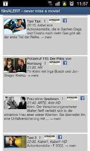 filmALERT   & Fernsehprogramm- screenshot thumbnail