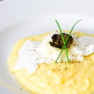 Black Truffle & Cheese Grits