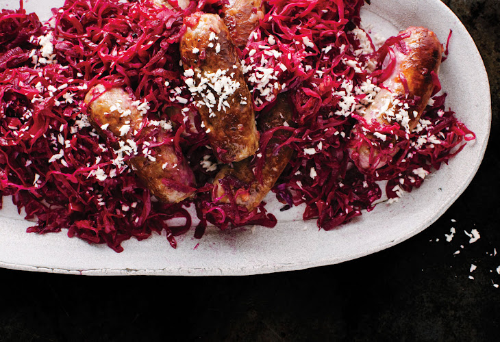 Bratwurst and Red Cabbage Recipe