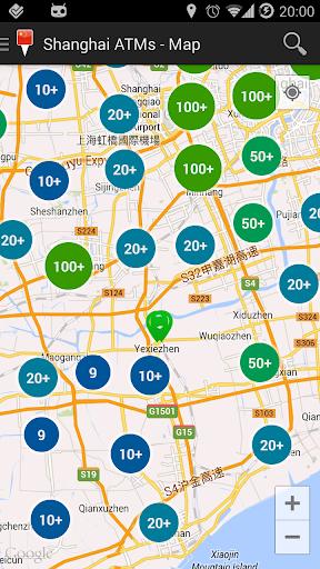 Shanghai ATM's