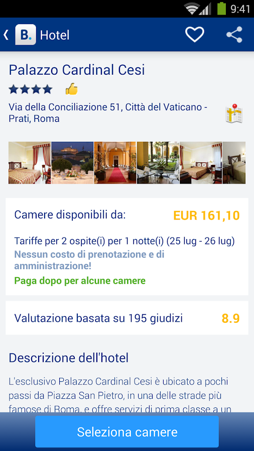 Booking.com: +445.000 hotel - screenshot