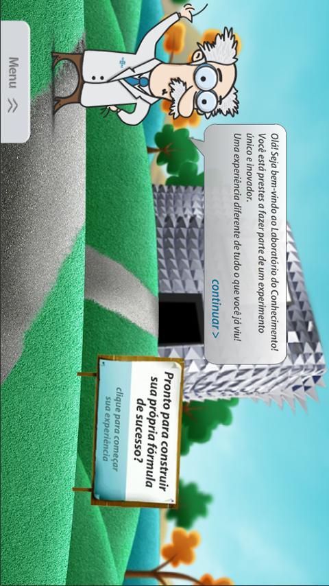Laboratório do Conhecimento- screenshot