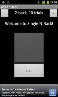 Single N-Back- screenshot thumbnail