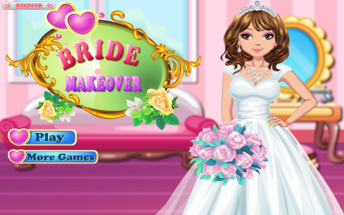 Bride Makeover - Girl Games- screenshot thumbnail