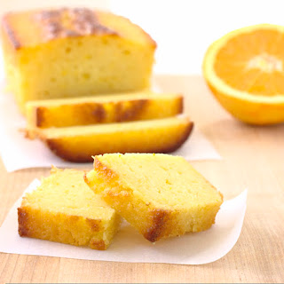 Ricotta Orange Pound Cake