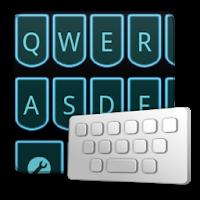 LaserLightblue keyboard skin 1.2