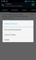 Screenshot of Twitbot FREE (Ads Supported)