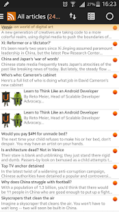 Smart Feed Reader- screenshot thumbnail